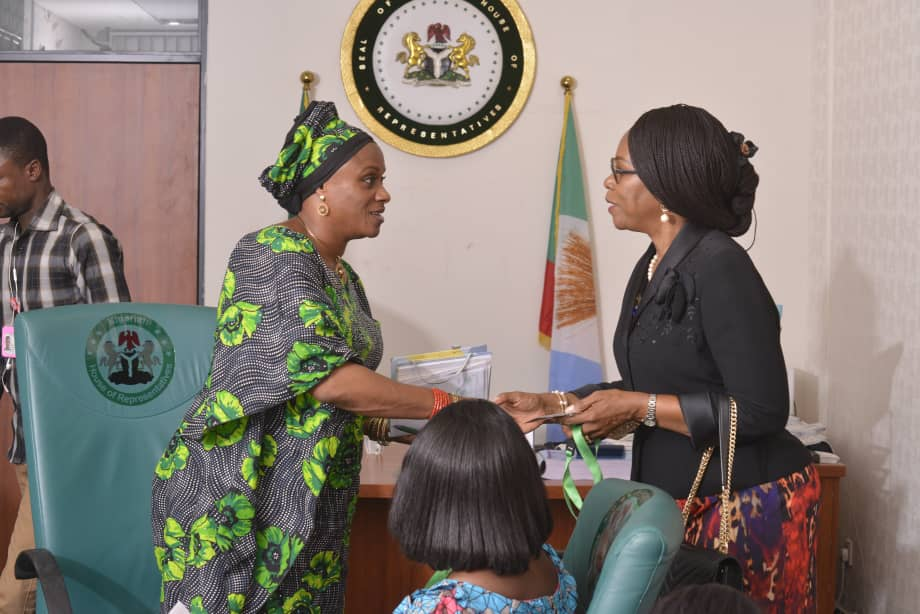 ADVOCACY VISIT TO THE CHAIRMAN HOUSE COMMITTEE ON WOMEN